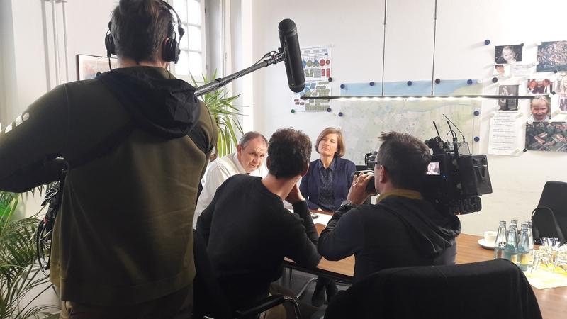 Interview zu einem NDR Beitrag zur möglichen Einleitung von kontaminiertem Kühl- und Abwasser des stillgelegten AKW Brunsbüttel in die Elbe.