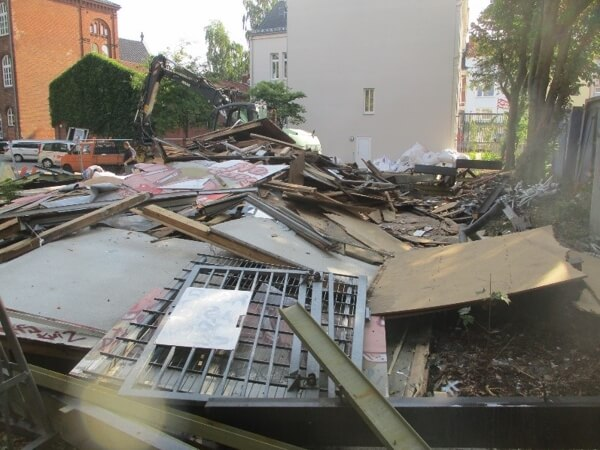 Abbruchreste eines Gebäudes   Bild: IBR IngenieurBüro Rasem