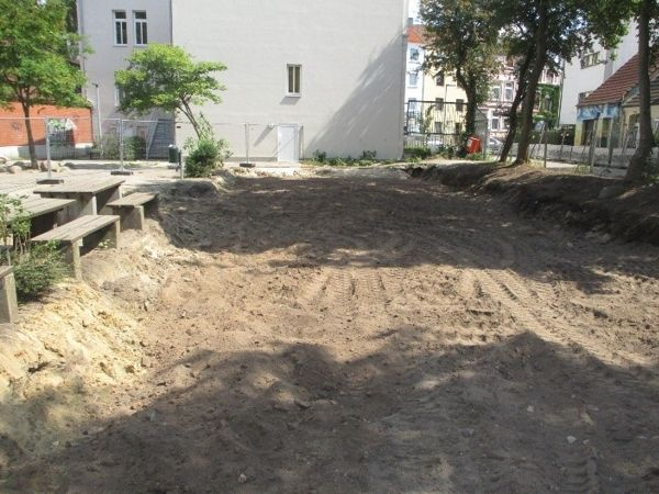 Geräumtes Grundstück   Bild: IBR IngenieurBüro Rasem